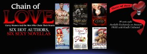 All six book in the curvy love series are on this picture. They all sound awesome!