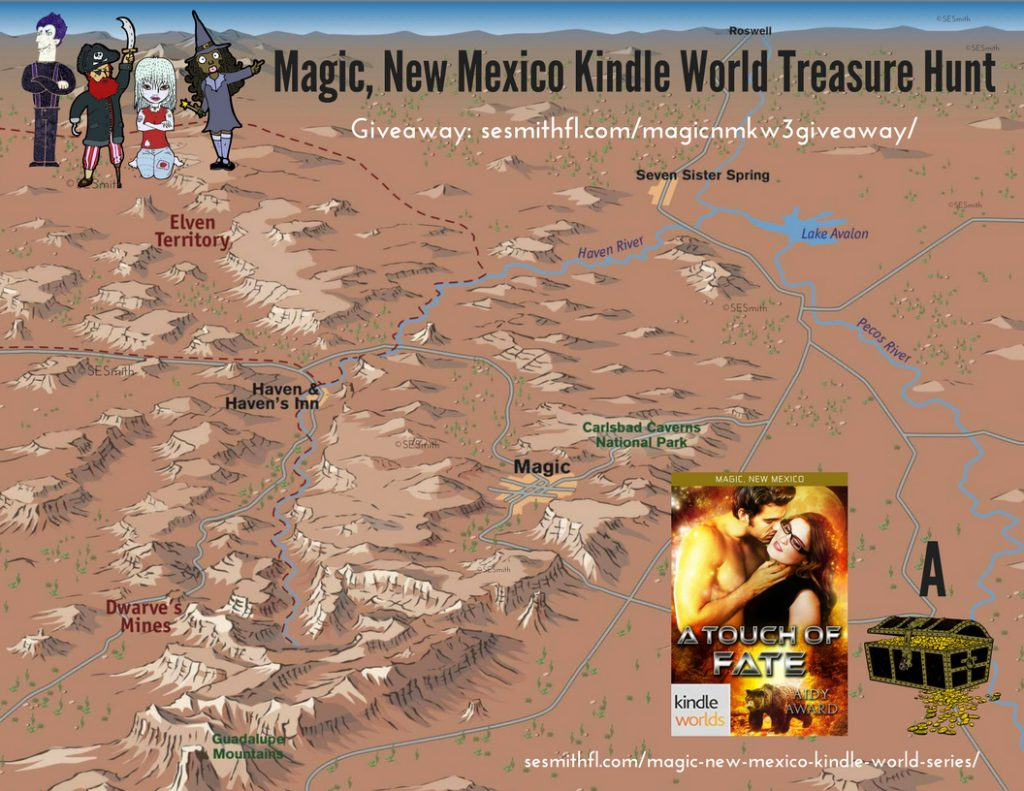 A map of Magic, New Mexico