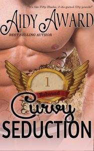 Man chest cover of the first book in the curvy seduction saga - Rebound