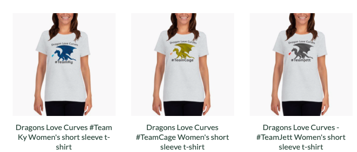 Dragon t-shirts in the Amazeballs Store!